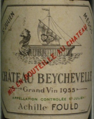 Bouteille Château Beychevelle